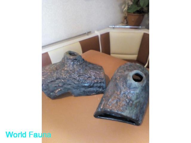 Укрытия из керамики.
