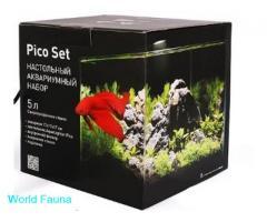 Аквариумный комплект PicoSet 5 литров